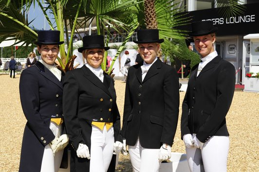 CDI4 CDI3 Dressage International im GHPC Das war der