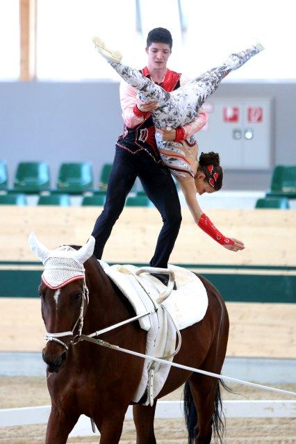 reitsportnews die pferdesportagentur fei voltigier