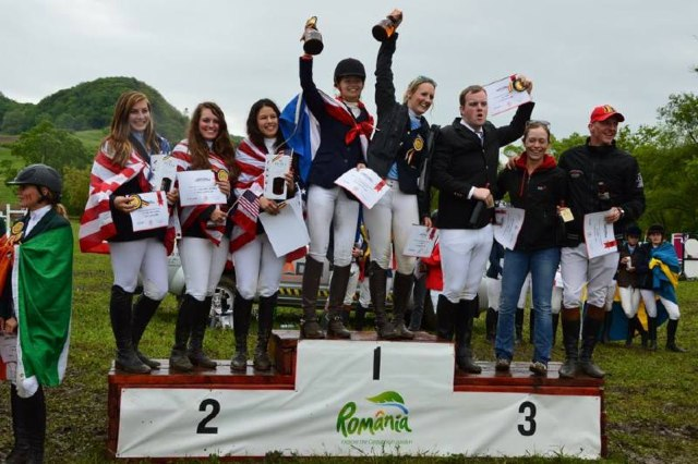 TheUnitedStates team StudentRiderNationsCup